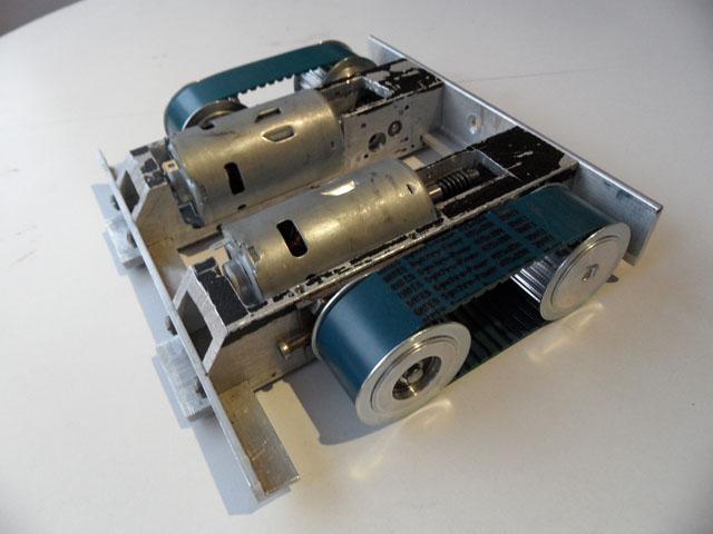 zakończenie głównych prac mechanicznych  robota sumo